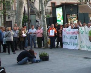 Una protesta cívica.