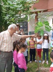 2-Plantando un árbol en la Bda. de la Oliva