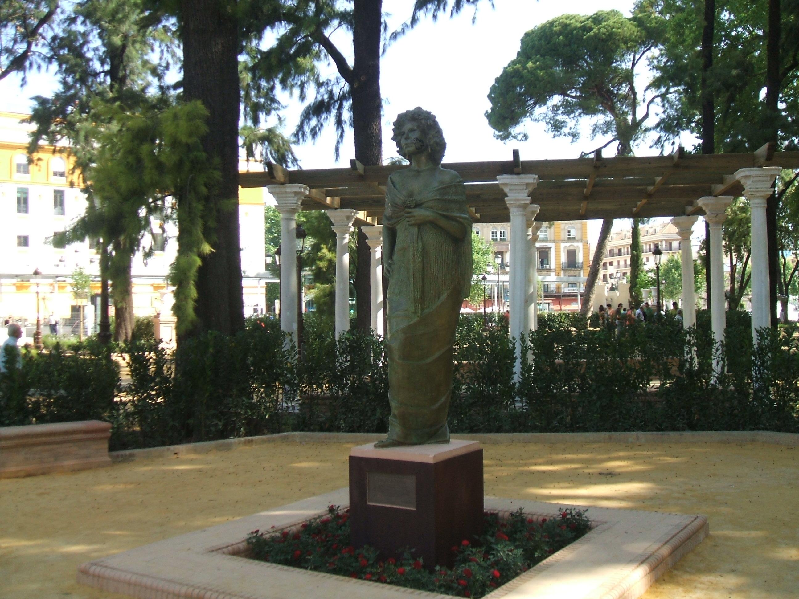 Monumento A La Duquesa De Alba Asociaci N Amigos De Los Jardines  # Muebles Duquesa