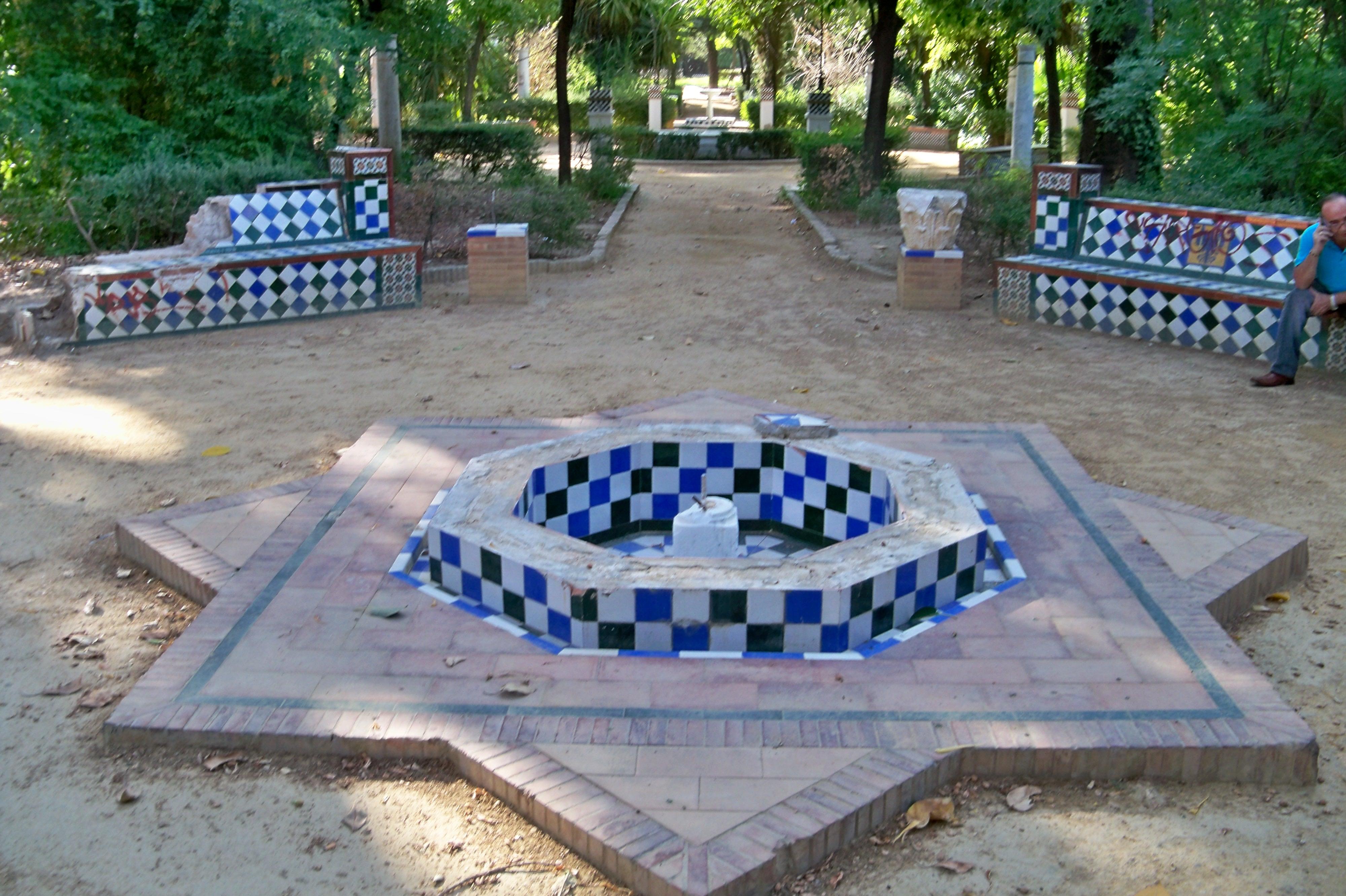 Arbol de las lianas asociaci n amigos de los jardines de for Fuente de los azulejos
