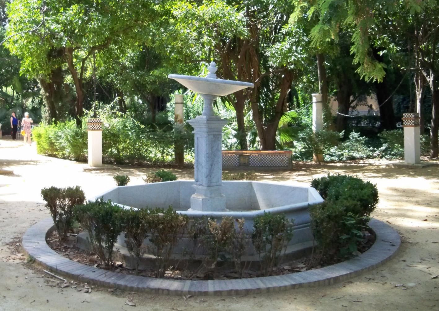 Jardines de murillo asociaci n amigos de los jardines de for Fuentes de jardin