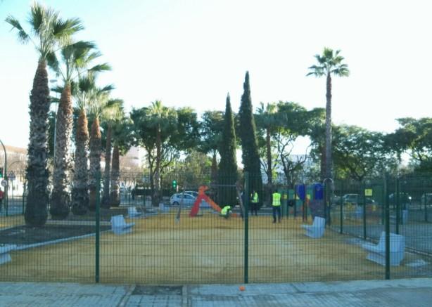 Jardín dedicado a Alberto García Camarasa