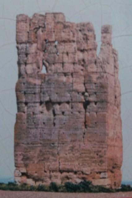 Torre de San Antonio antes de su restauración.