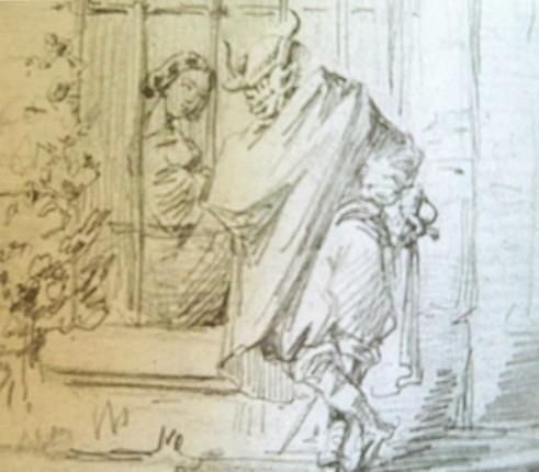 """Bécquer encontró en la pintura el impulso para enriquecer sus creaciones literarias, posiblemente cuando no encontraba las palabras...acudía a la pintura, quizás sea por eso que en sus escritos al referirse a sus lectores apelase a la palabra """"Figuraos..."""" Posiblemente sea una manera de ensanchar los límites del lenguaje."""