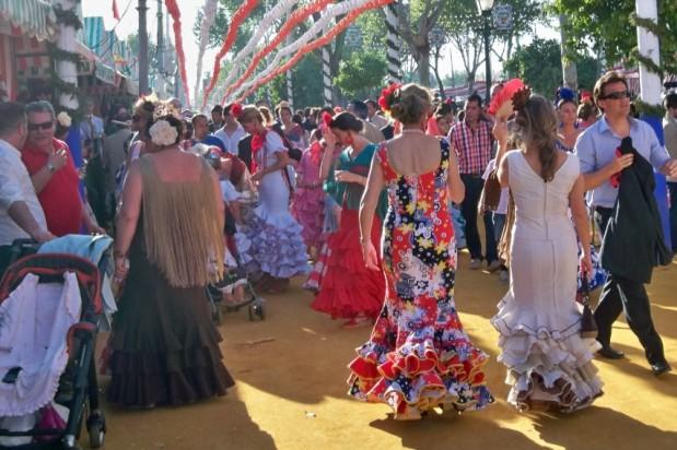 El colorido de la Feria de Sevilla