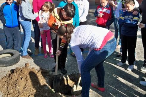 Las alumnas también participaron activamente