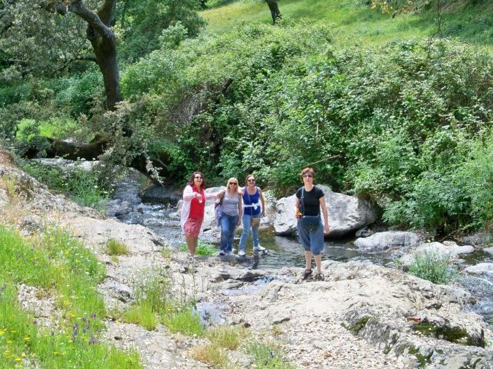 El río Odiel sigue su sinuoso curso hasta el mar...