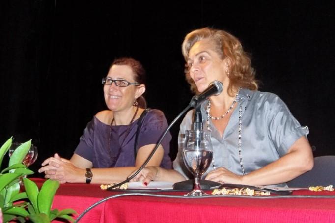 Doña maría Dolores Pablo-Blanco Oliden, concejal delegada de Familia, Asuntos Sociales y Zonas de Especial Actuación.