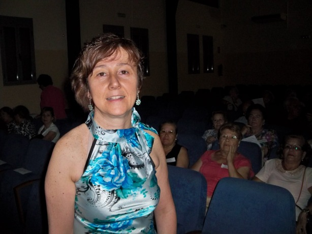 Doña Mª Dolores González Fernández, Técnico de Cooperación Social de la UTS Bermejales. La alma máter de la Coordinadora de Mayores.