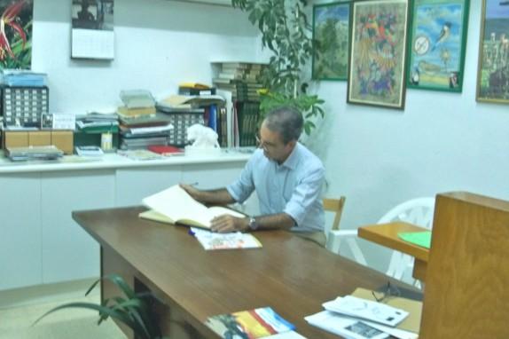 Don Javier Zumárraga, Director General de Zonas de Especial Actuación del Ayuntamiento de Sevilla.