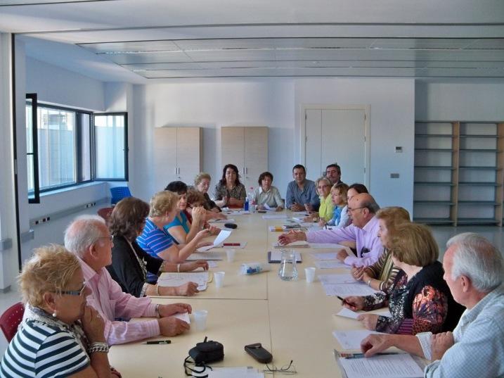 Reunión de la Coordinadora de mayores del sur