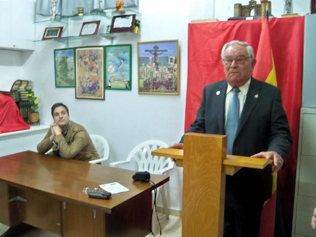 Juan Canto agradece su nombramiento como Oliveño del Año 2013