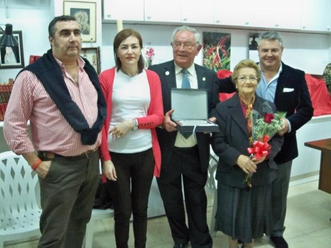 Juan Canto con su familia