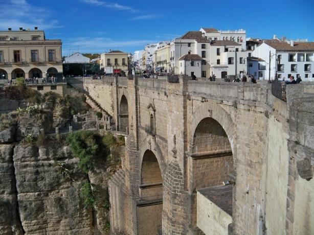 Puente Nuevo de Ronda sobre el río Guadalevín