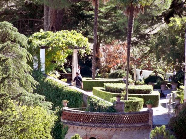 Ronda. Jardines de la Casa del Rey Moro