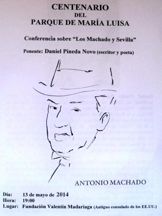 Boletín Informativo del acto.