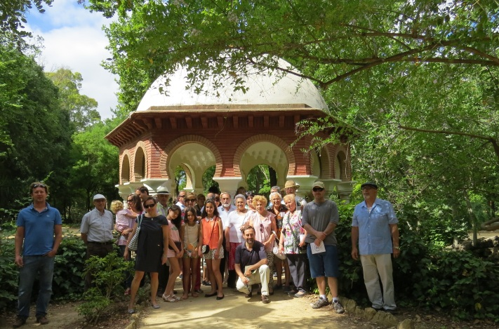 La Sevilla sensible que tiene interés por conocer los árboles del Parque de María Luisa