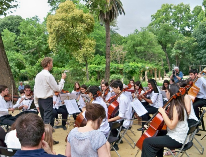 Día de la Música en el Parque de María Luisa.