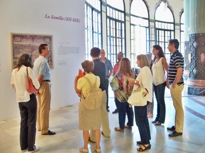 Explicando los orígenes del Parque de María Luisa