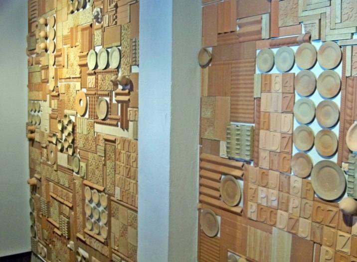 Decoración de las paredes.