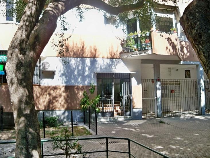 Bloque de la barriada Ntra. Sra. de Oliva donde vivió Fernando Soto Martín