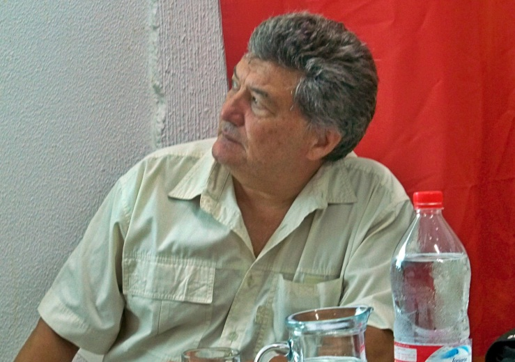 Octavio Real Gil, autor del libro.