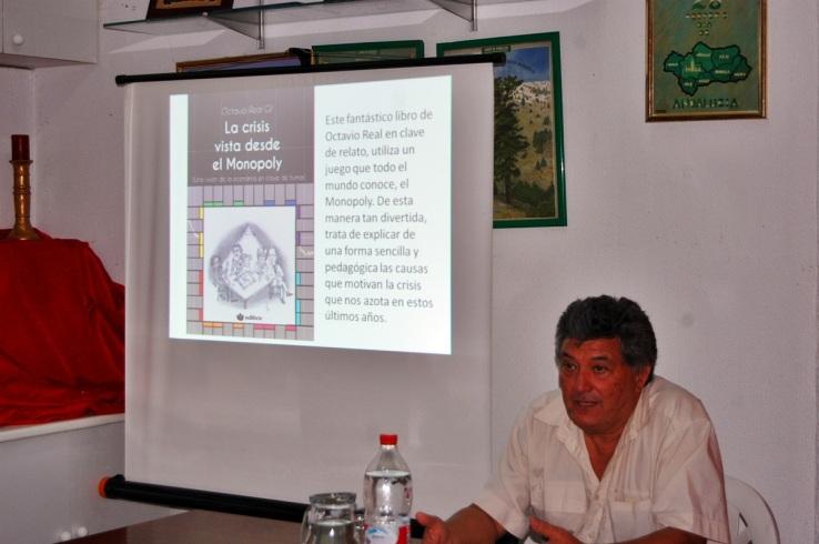 Octavio Real Gil, explica detalladamente las causas que han traído la crisis económica.