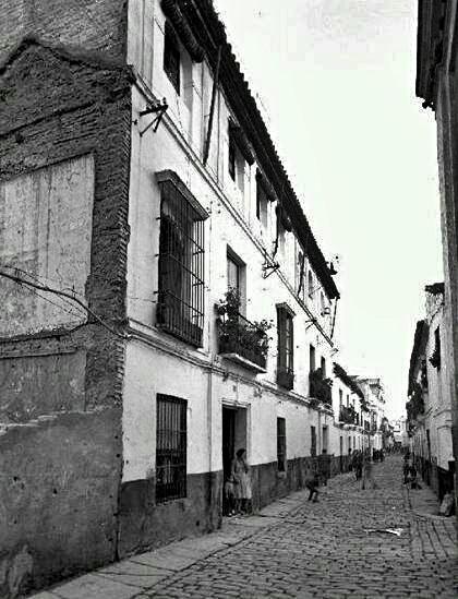 Barrio de San Bernardo. calle Marqués de Estella (antigua calle Competencia)