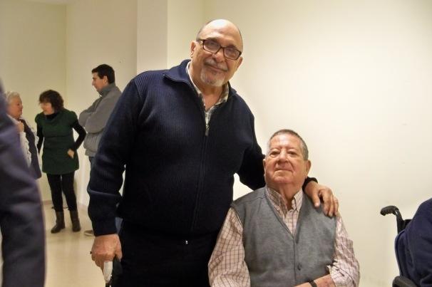 Y tuvimos la oportunidad de saludar afectuosa mente a nuestro amigo, vecino y antiguo socio José Tamayo.