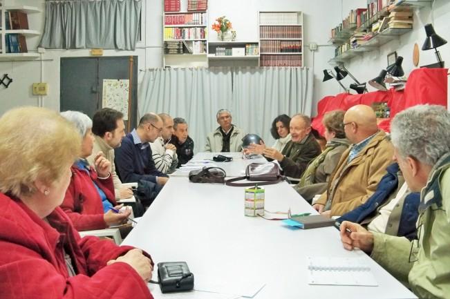 Reunión ordinaria de la Plataforma, febrero 2015