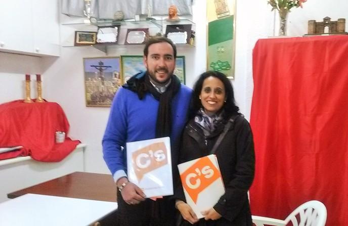 Representantes de Ciudadanos (C`s) visitan nuestra Asociación.