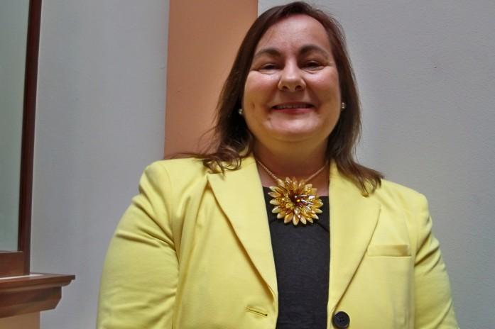Amparo Graciani, autora del libro.