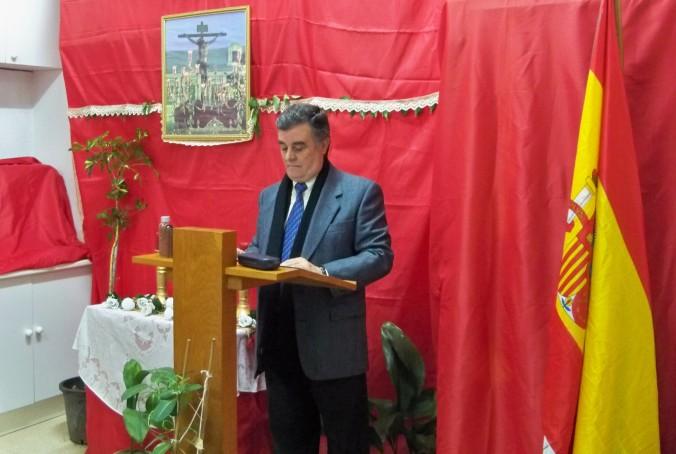 Nuestro pregonero José Medina Castro
