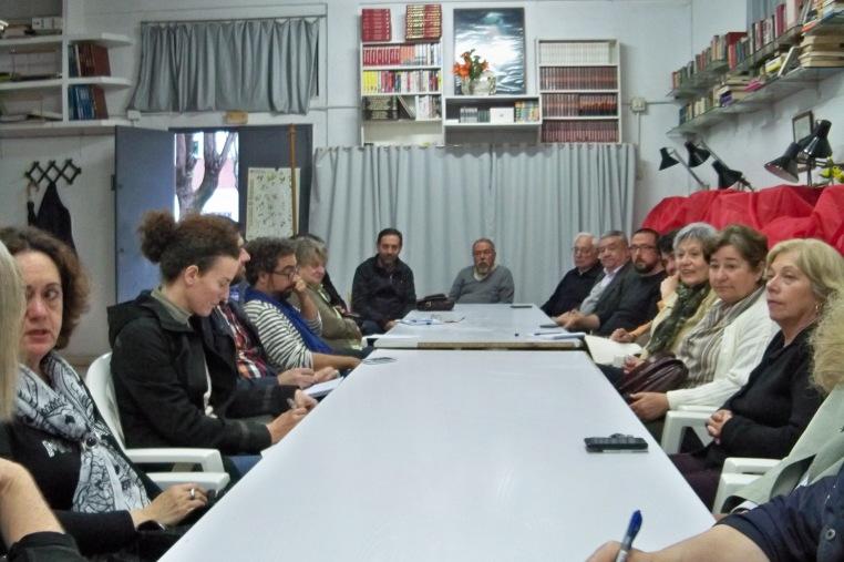 Reunión de la Plataforma Ciudadana por los Parques, los Jardines y el Paisaje de Sevilla