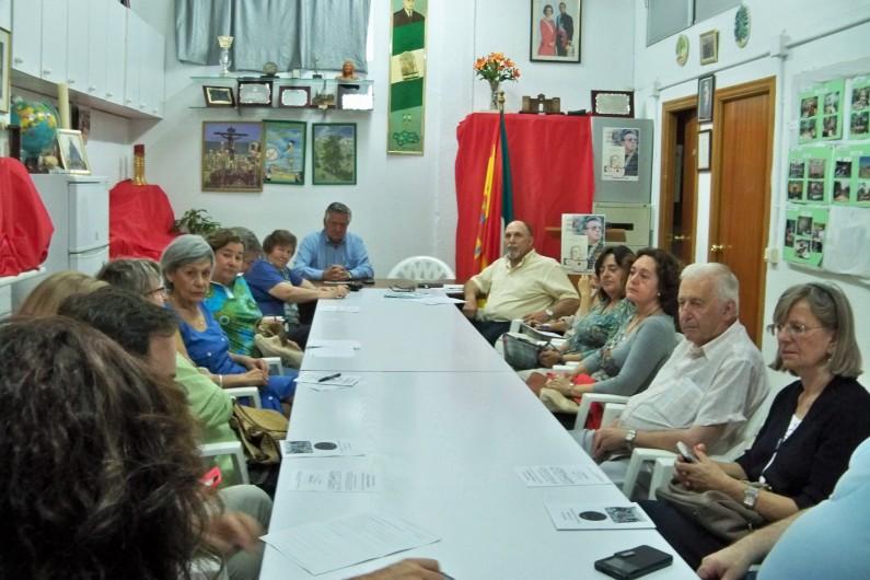 Reunión de la Plataforma, mayo 2015