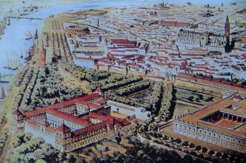 1846. Vista aérea en globo (Duque de Segorbe)