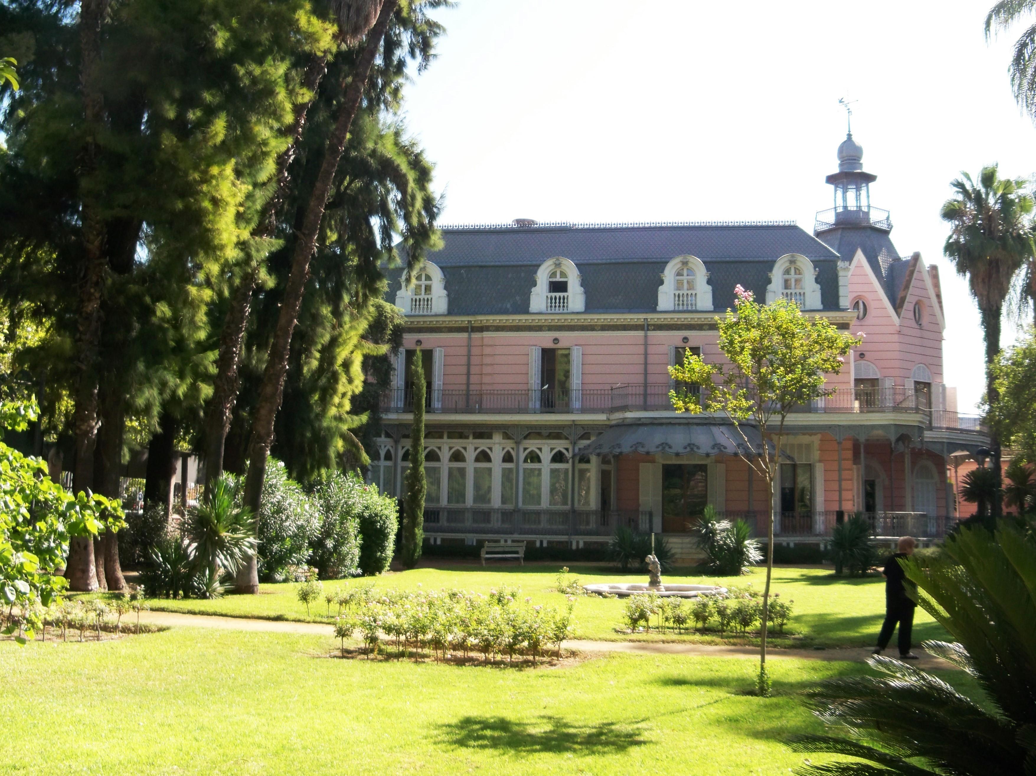 Jard n de la casa rosa asociaci n amigos de los jardines for Jardin botanico en sevilla