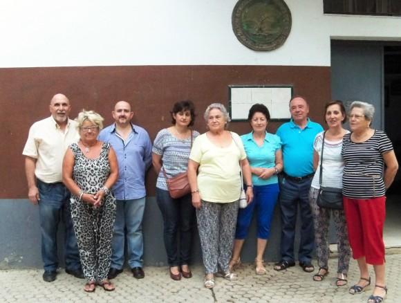 La Junta Directiva de la Asociación Amigos de los jardines de la Oliva