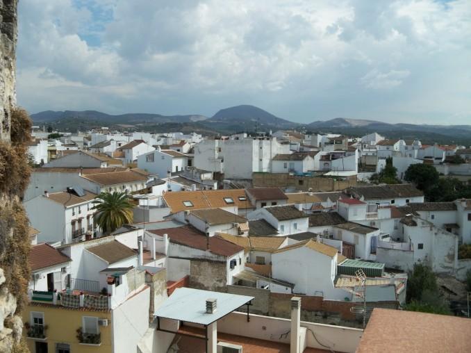 Vista de la ciudad de Cabra desde la Muralla Defensiva.