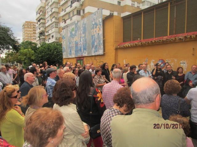 La Sevilla sensible que acudió a la concentración .