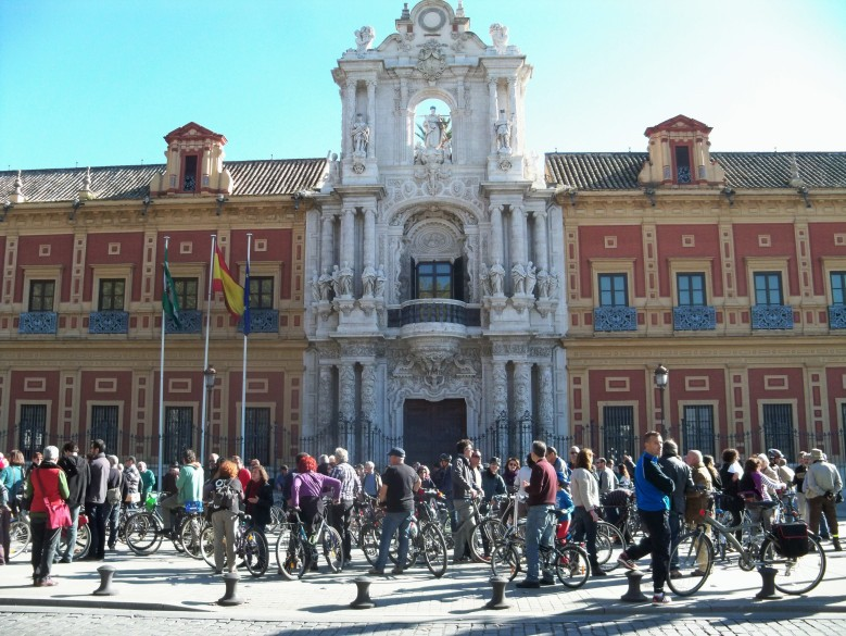 Punto de salida: Palacio de San Telmo.
