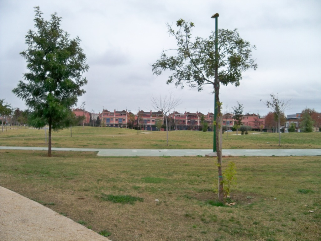 Parque río Guadaíra. Extensión 60 Ha; Longitud 3 Km: Une los barrios de El Polígono Sur, Heliópolis, Bermejales, Elcano y Pedro Salvador.