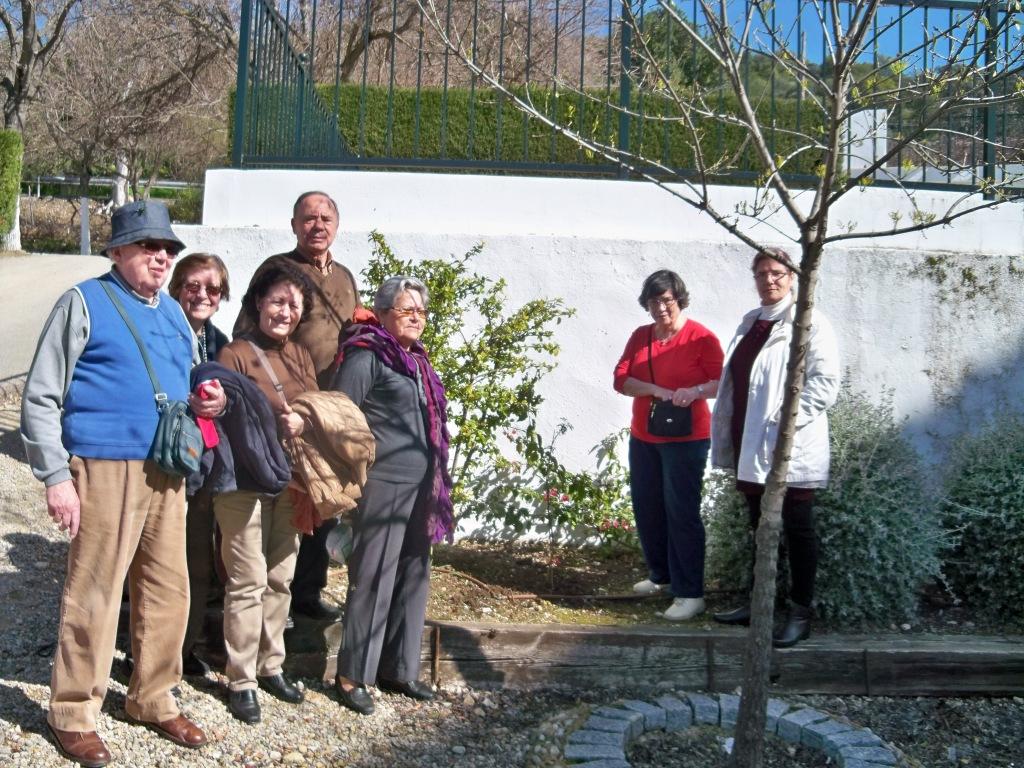 Plantando la acacia farnesiana