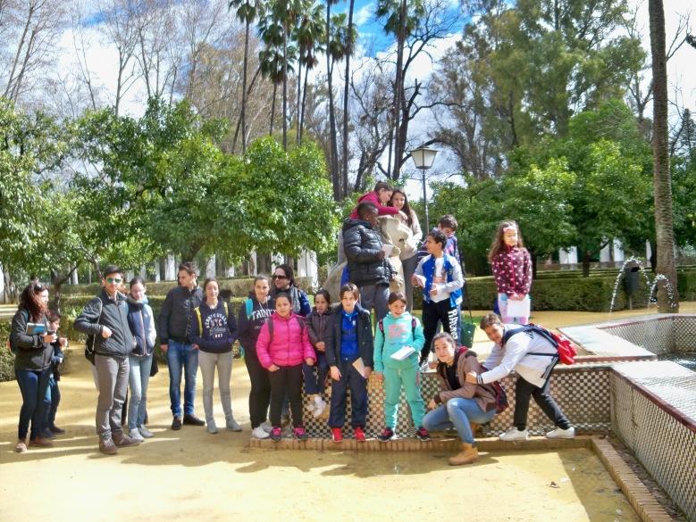 La Fuente de los Leones del Parque de María Luisa