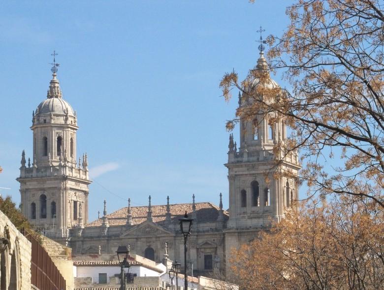 Catedral renacentista de Jaén.