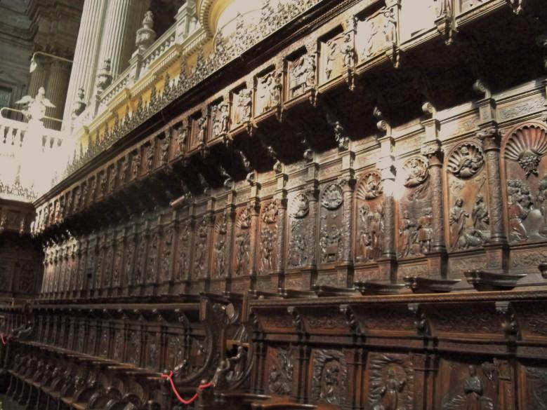 El magnífico coro de la Catedral de Jaén