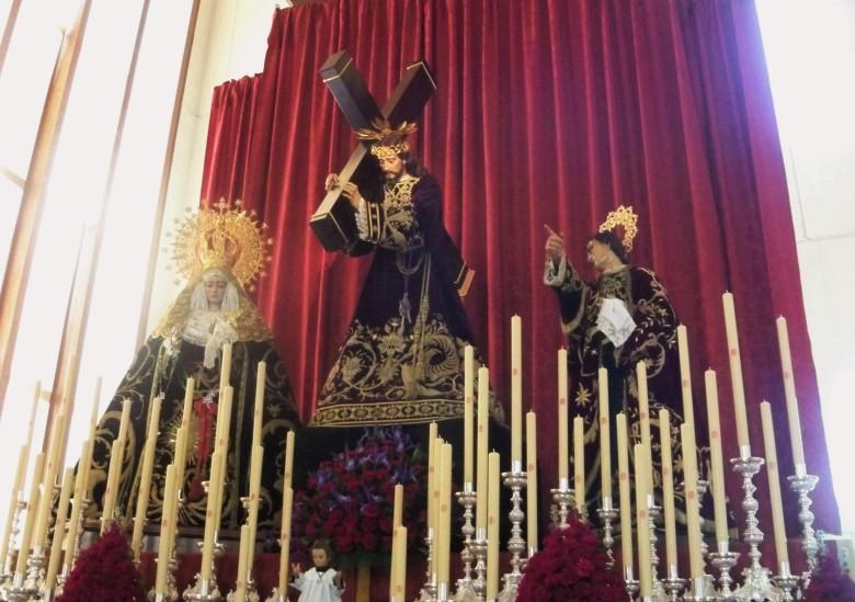Jesús Nazareno. popularmente conocido como El Abuelo.