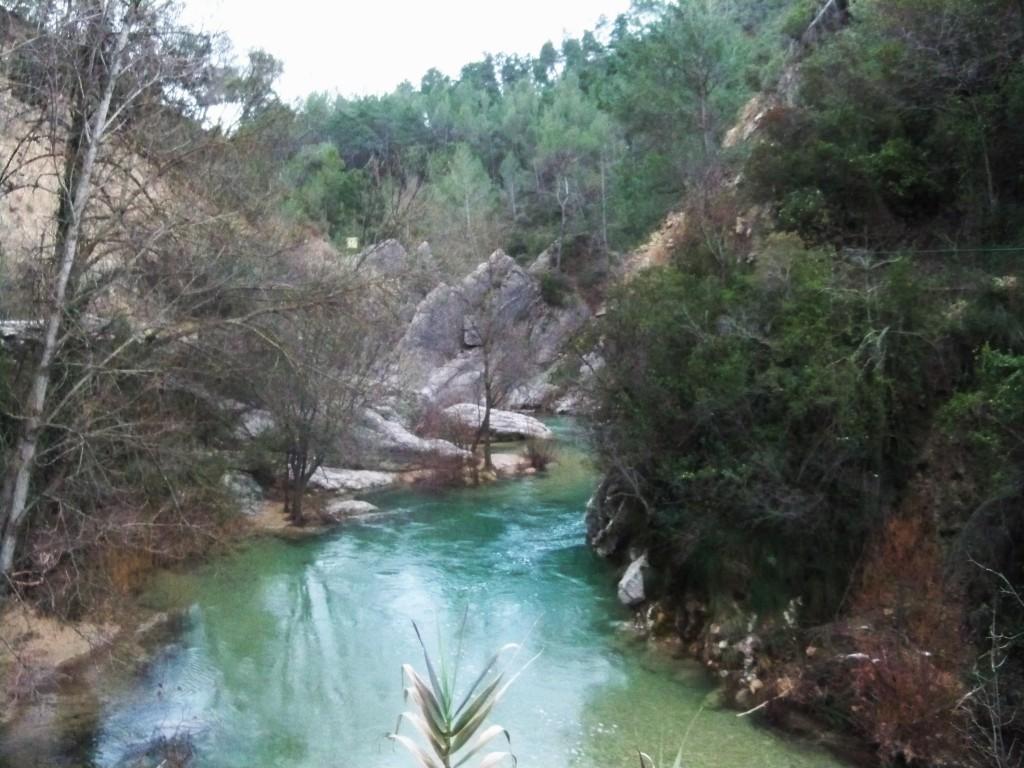 El río Borosa, primer afluente que recibe el Guadalquivir.