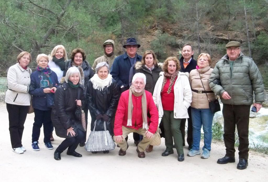 El grupo de Amigos de San Bernardo.