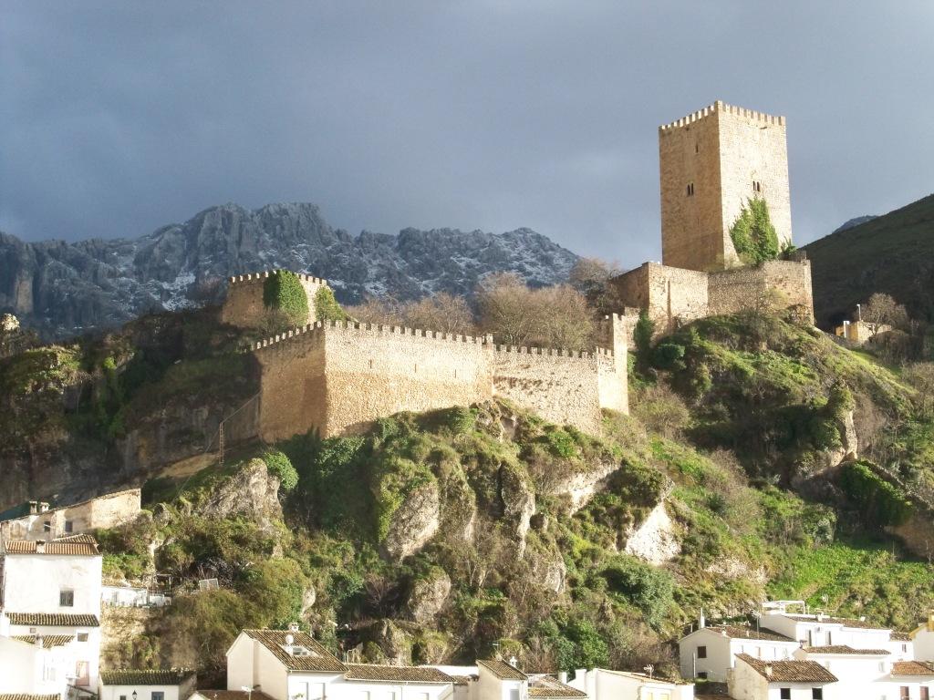 El Castillo de la Yedra de Cazorla.